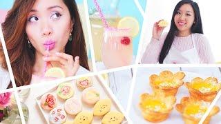 Diy Spring Delight: Food, Drink + Face Mask ✿