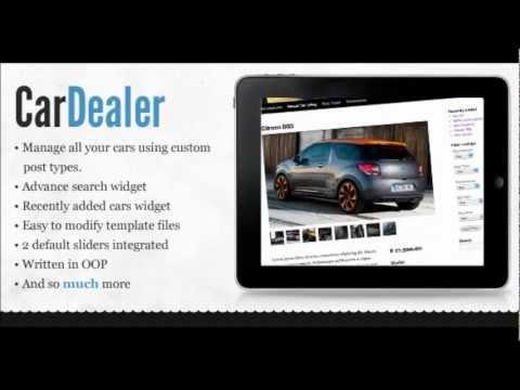 Motorcar Marketing Dealer Admin Demo - Car Dealer Websites - YouTube