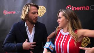 Teresa Palmer and Luke Bracey on pushing their limits in 'Point Break'