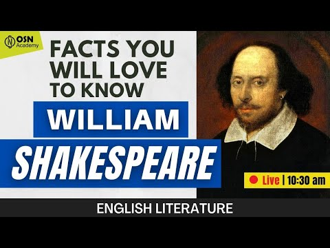 UGC NET | Some Facts of Shakespeare | English Literature | 🔴 LIVE