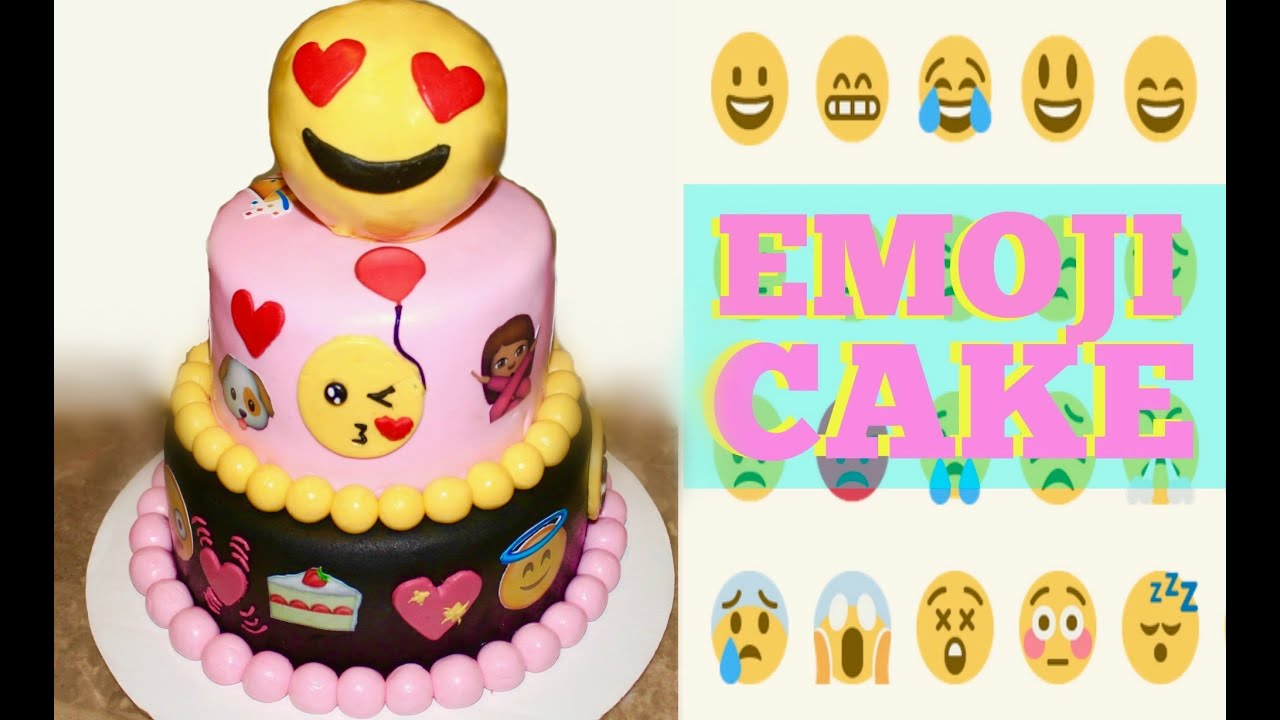 The Emoji Movie Cake Youtube