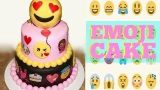 The Emoji Movie Cake