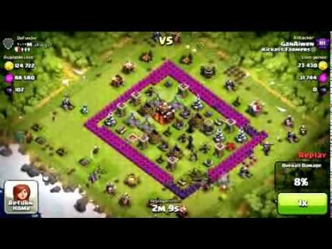 Clash of Clans - How to Farm Millions of Resources