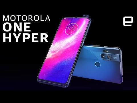 The One Hyper is one of Motorola's weirdest mid-range phones yet