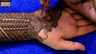 Fully Traditional Henna Mehndi Design For Hand | Intricate Mehendi Tutorial For Wedding (Bridal Tip)