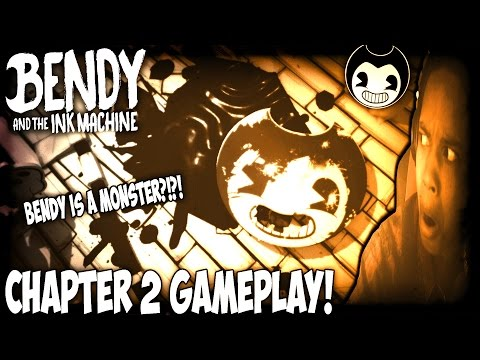 Thumbnail: BENDY AND THE INK MACHINE CHAPTER 2: THE OLD SONG GAMEPLAY | BENDY IS A MONSTER!