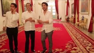 YouTuber Nge Vlog Bareng Presiden Jokowi