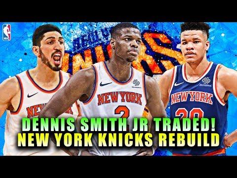 DENNIS SMITH JR TRADED! NEW YORK KNICKS REBUILD! NBA 2K19 MY LEAGUE