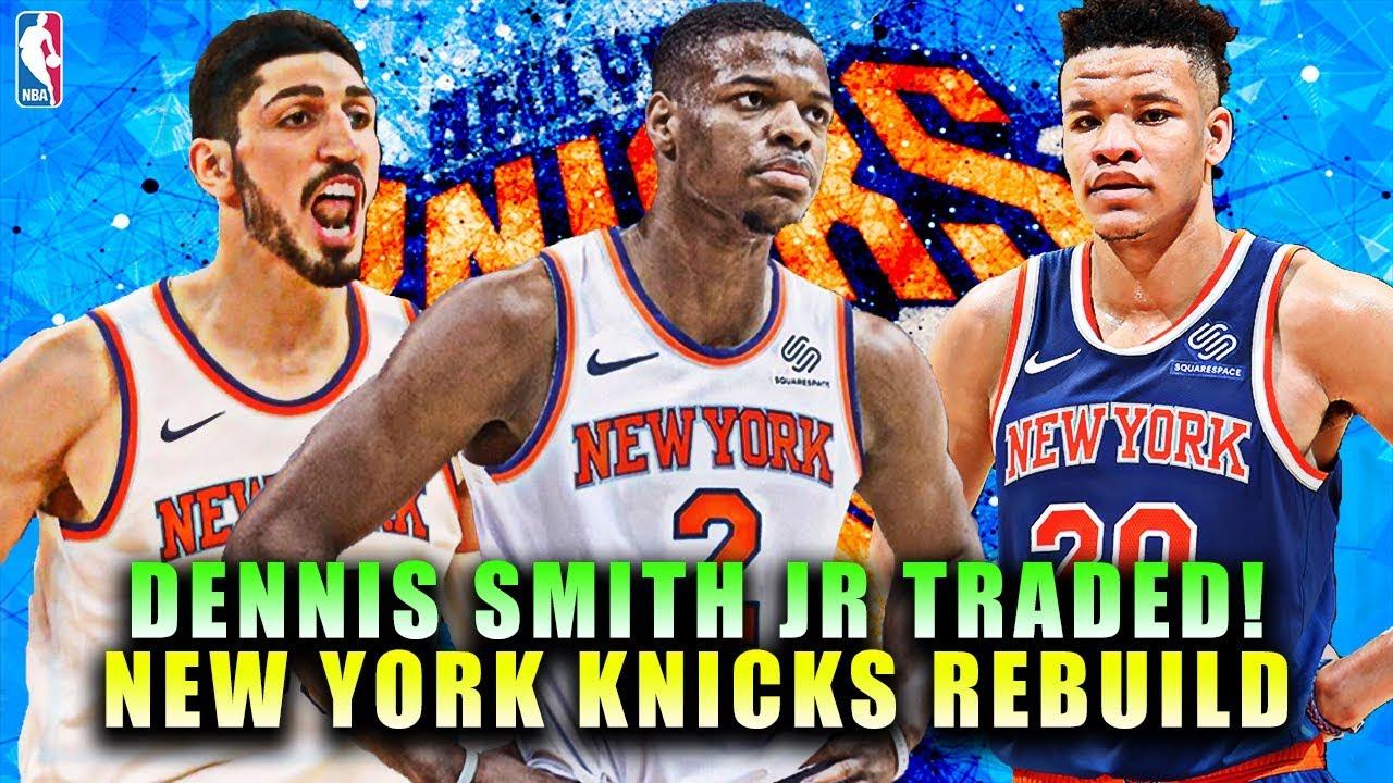 DENNIS SMITH JR TRADED! NEW YORK KNICKS REBUILD! NBA 2K19 MY LEAGUE ... d58acbfbe