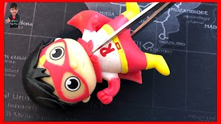 What's inside Ryan's Toy Review Squishy? | Ryan's World Toys