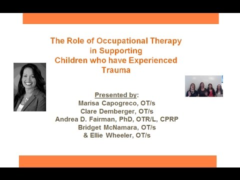The Role of Occupational Therapy in Supporting Children who have Experienced Trauma