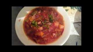 Борщ вегетарианский 4 в 1 Как ускорить варку свеклы и фасоли Tupperware в помощь