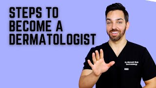 How to Become a Dermatologist #short