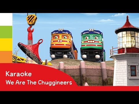 Chuggington - We Are The Chuggineers Song - Karaoke - Cartoons for Children!