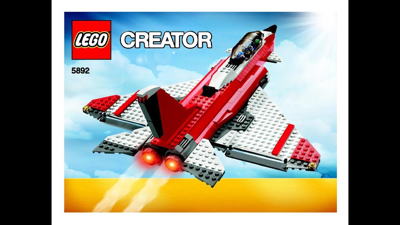 Lego creator sonic boom 5892 fast flyers pickup 3 in 1 - Lego sonic boom ...