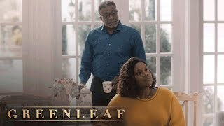 Bishop Confronts Charity About Dating Phil | Greenleaf | Oprah Winfrey Network