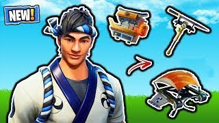 HOOLI-PARTY WITH NINJA SKIN (MASTER OF MAKI): FORTNITE BATTLE ROYALE