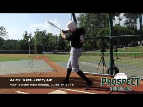 Alex Kirilloff, Inf, Plum Senior High School, Swing Mechanics at 200 fps