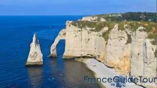 Les falaises d'Étretat (Guide touristique, notrebellefrance, Seine-Maritime, Haute-Normandie)
