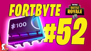 Fortbyte #52 | Accessible with Bot Spray inside a Robot Factory (Fortnite Season 9)
