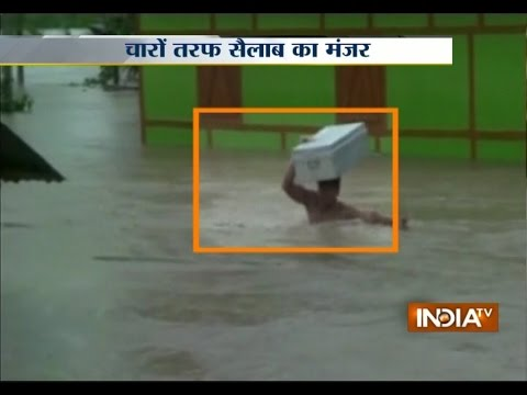 Monsoon 2015: Over 7 Lakh People Affected in Assam Flood - India TV