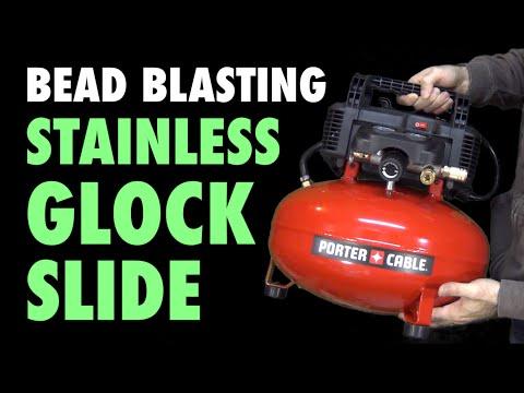 bead-blasting-my-glock-slide-(&-small-garage-fire)