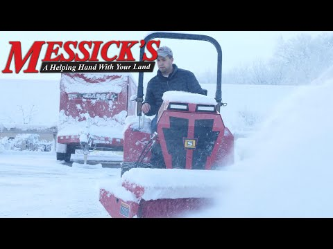 Why Clearing Snow With A Broom Is Best | Steiner 450 & RS350 Brush
