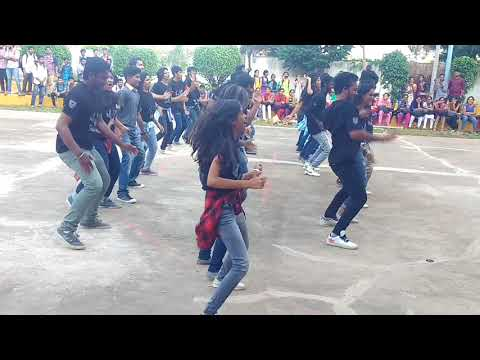 St Martin's Engineering College Flash Mob
