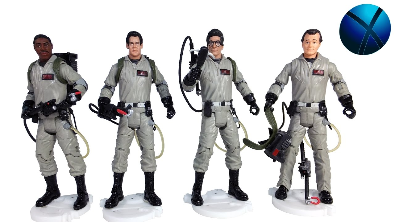 Mattel Ghostbusters 30th Anniversary Figures With Removable Proton Packs Youtube