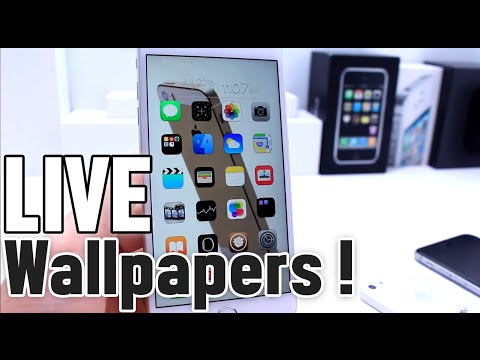 How to install Animated Live Wallpapers on iPhone Home Screen Jailbreak - YouTube