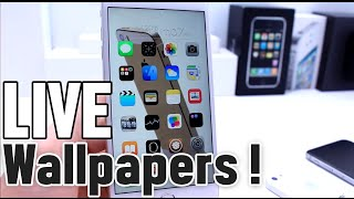 How to install Animated Live Wallpapers on iPhone Home Screen Jailbreak