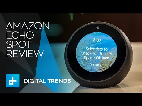 Amazon Echo Spot - Hands On Review