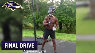 Hollywood Brown Shows He's Bulking Up for a Big Year | Ravens Final Drive