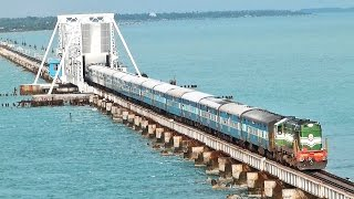 India's MOST DANGEROUS Rail BRIDGE PAMBAN Rameswaram.