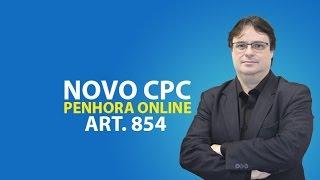 NOVO CPC: PENHORA ONLINE - ART. 854 - Prof. IVAL HECKERT