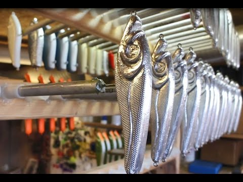 Foiling And Finishing Lure Techniques By Swedish Lure Maker Gaddgapet