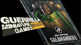 Gmg Reviews - Codex Supplement: Salamanders By Games Workshop