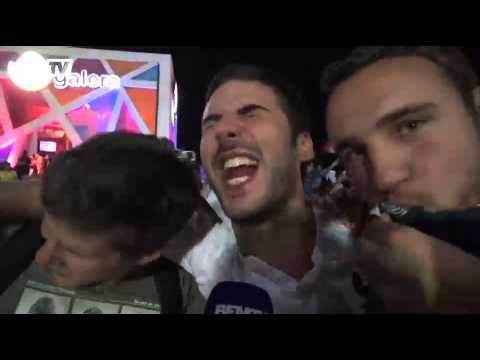 Football / Folie bleue à Copacabana - 20/06