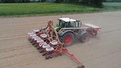 🇫🇷 Sur la fin des semis de maïs avec le guidage RTK | ETA de l'oust