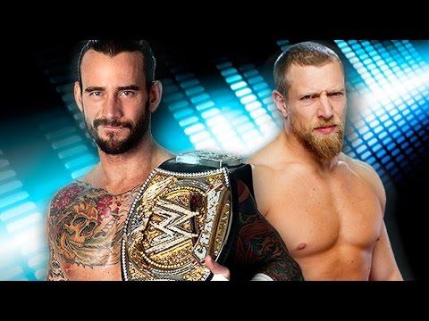Daniel Bryan VS CM Punk - لعبة المصارعه الحرة الرجال - مصارعة بطولة الوزن الثقيل