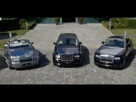 rolls-royce wraith ghost phantom driving rolls royce factory