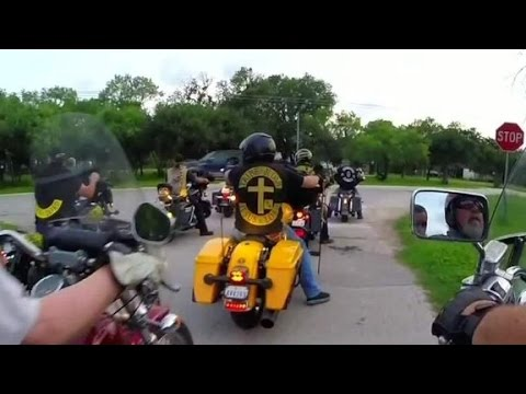 Bikers reject outlaw stereotype