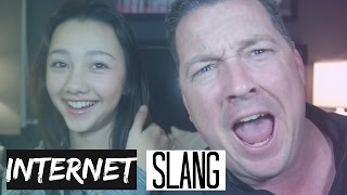 teaching my dad internet slang   hellohaley