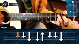 """Cómo tocar """"Noviembre sin ti"""" de Reik en Guitarra (HD) Tutorial Acordes - Christianvib"""
