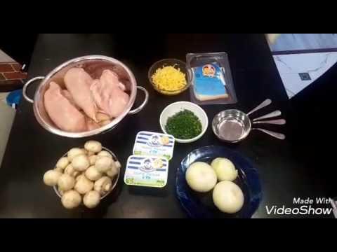 Жульен из курицы по ПП(здоровое питание)
