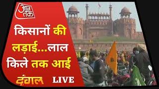 किसान आंदोलन और फिर दिल्ली में उपद्रव पर Rohit Sardana के साथ डिबेट | Dangal Live | Farmers Parade