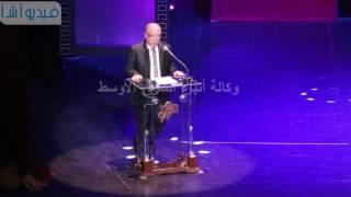 """بالفيديو : وزير الثقافة """"  السينما المصرية نحن بحاجة اليها وهى فن شبابى """""""