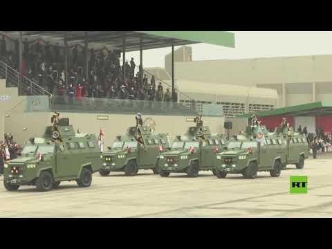 عرض عسكري بالذكرى الـ200 لاستقلال بيرو بحضور الرئيس الجديد