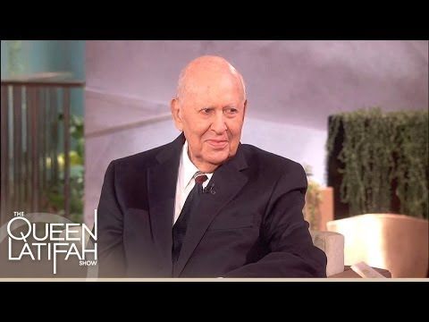 Carl Reiner Is Surprised With A Pink's Hot Dog | The Queen Latifah Show