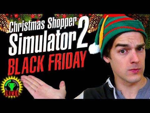 Christmas shopper simulator 2 black friday holiday shopping rampage